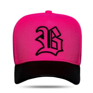 Boné Snapback Aba Perfored Pink