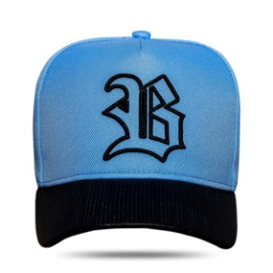 Boné Snapback Aba Perfored Blue