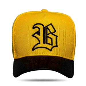 Boné Snapback Aba Perfored Yellow