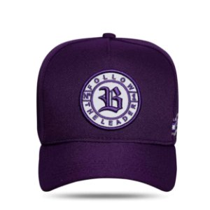 Boné Snapback Follow Perfect Roxo