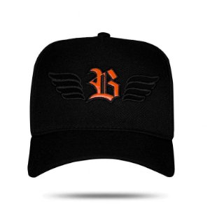 Boné Snapback Wings Logo Orange