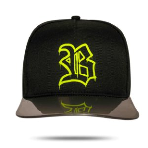 Boné Snapback Aba Transparency Black