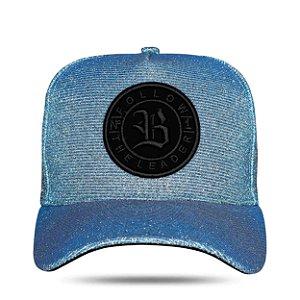 Boné Snapback Shine Blue