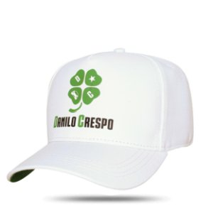 Boné Snapback Logo Danilo White