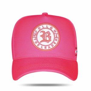 Boné Snapback Perfect Follow Pink Fluor