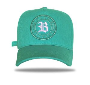 Boné Strapback Follow Logo Green Water