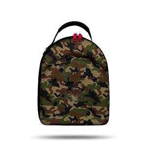 Case Cap Blck Camouflage Green