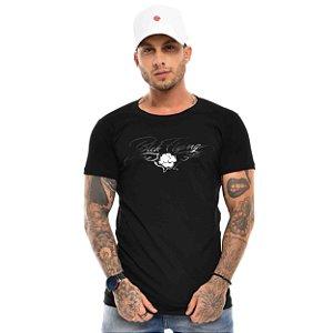Camiseta Blck Flyng Rose Black