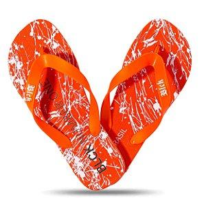 Chinelo Tradicional Number One Resping Orange