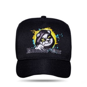 Boné Snapback Bear Number One Black