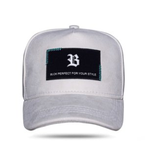 Boné Snapback New Square Suede Off White