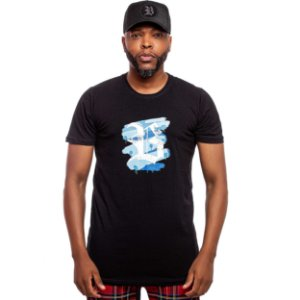 Camiseta Blck Brushed Black