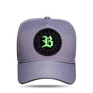 Boné Strapback Follow Trace Logo Green