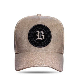 Boné Snapback Super Shine Gold