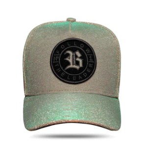 Boné Snapback Follow Shine Green Salmon