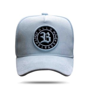 Boné Snapback Follow Suede New 2.0 Blue Clear