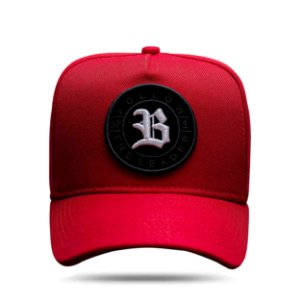 Boné Snapback Follow All Red Logo White