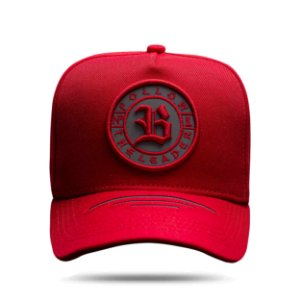 Boné Snapback Laser Cut Follow Red