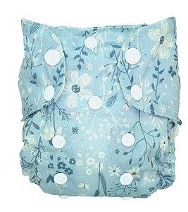 Flores - Recém Nascido - Mari Fraldas - Pull - Pocket - Interior em dry-fit