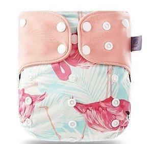Flamingo - Elinfant - Pull - Pocket - Interior em Malha de Café