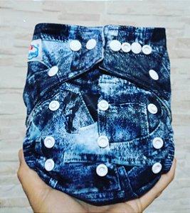Jeans - Babyland - Pull - Pocket - Interior em Microfleece
