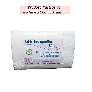 Liner Biodegradável - Produto Ilustrativo - Exclusivo Chá de fraldas