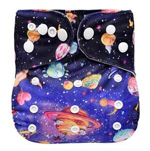 Fralda Ecológica Galáxias Mumsbest