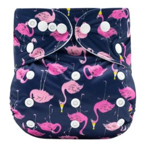 Fralda Ecológica Flamingos Mumsbest