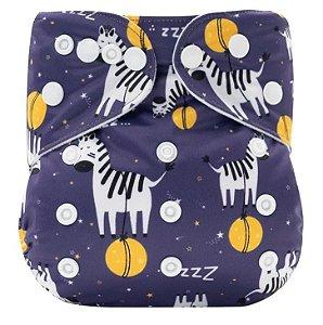 Fralda Ecológica Zebras Mumsbest