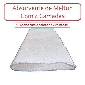 Absorvente de Melton - 4 camadas