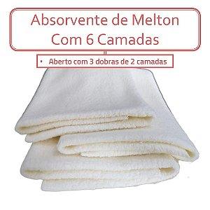 Absorvente Recém Nascido - Melton 6 camadas (Un)