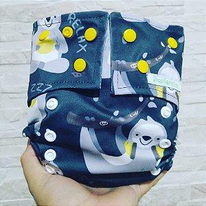 Preguiça - Brasileirinha - Pull - Pocket - Interior em Dry-fit