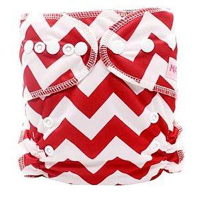 Zig-Zag Vermelha - Maboj - Pull - Pocket - Interior em dry-fit