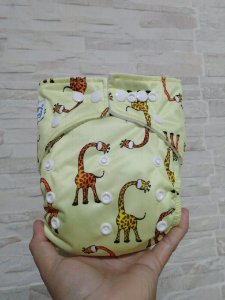 Girafa - Babyland - Pull - Pocket - Interior em Microfleece