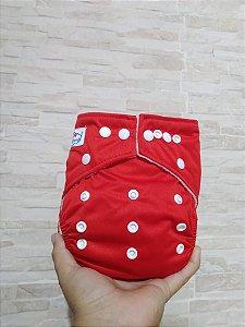 Vermelha - Babyland - Pull - Pocket - Interior em Microfleece