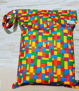Lego - Sacola Impermeável - Mari Fraldas