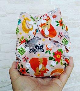 Família - Recém Nascido - Mari Fraldas - Pull - Pocket - Interior em dry-fit