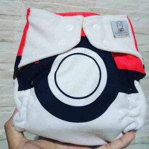 Pokebola - Aurorinha - Soft - Pocket - Interior em dry-fit