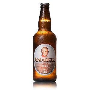 Cerveja Pilsen Puro Malte Amadeus