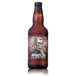 Cerveja Pumpkin Ale Puro Malte Amadeus