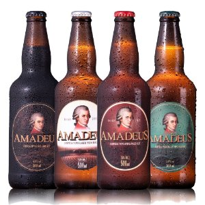 Kit 4 Cervejas Amadeus 500 ml