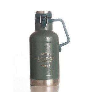 Growler Térmico Inox 1 Litro e 900 ml Amadeus