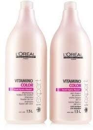 Kit Loreal Vitamino Color Litro Shampoo e Condicionador 1500ml ( 2 Produtos ) - ( Nacional )