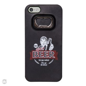 Capa para celular iphone 4/4s abridor - open beer