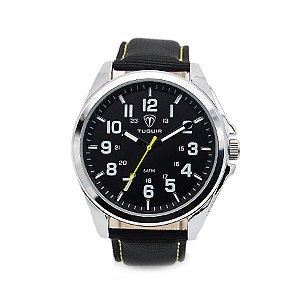 147d303afa2 Relógio Masculino Curren Analógico 8213 Prata - ROMAPLAC