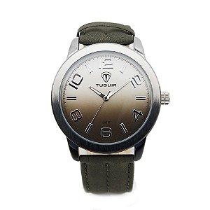 63cbc1b5ac1 Relógio Masculino Tuguir Analógico 5001 Preto e Prata