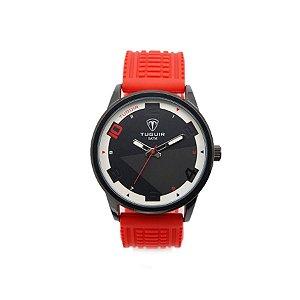 38dbdfba462 Relógio Masculino Tuguir Analógico 5050 Vermelho