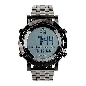 17154c9c8ee Relógio Masculino Tuguir Metal Digital TG6017 Preto