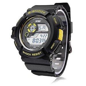 48b17d0e4dd Relógio Masculino Skmei Digital 1206 Preto - ROMAPLAC
