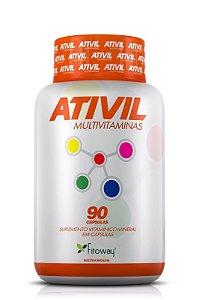 ATIVIL MULTIVITAMINAS 90 CAPS.